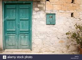 Turquoise front door Colors House Colorful Turquoise Door In The Cypriot Village Of Omodos Stock Image Alamy Turquoise Front Door Stock Photos Turquoise Front Door Stock