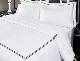 black embroidered duvet cover kimpton
