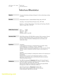 Job Resume Template Word Unique Resume Template On Word 100 Best Templates 89