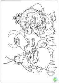Monsters Vs Aliens Clipart At Getdrawingscom Free For Personal