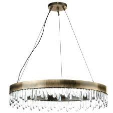 modern round chandelier modern round chandelier with regard to large vintage brass and quartz crystal remodel