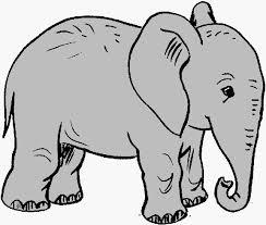 elephant clipart for kids. Modren Clipart Elephant Is Largest Living Land Mammals  School Kids Fun Inside Clipart For Kids A