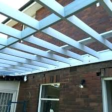 clear roof panels corrugated roofing sheets pergola with steel adjustable
