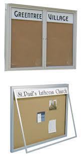 Enclosed Indoor Or Outdoor Bulletin Boards Building Directory Simple Exterior Bulletin Boards Model Collection