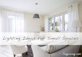 lighting for small spaces. Making The Most Of Light In A Small Apartment Lighting For Spaces N
