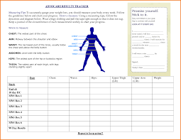 Advocare Measurement Chart 27 Images Of Measurement Chart Template Sofond Net