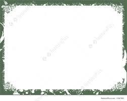 Templates Floral Green Border Stock Illustration I1587883