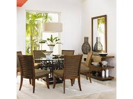 Tommy Bahama Dining Room Furniture Collection Tommy Bahama Home Ocean Club 7 Piece South Sea Round Glass Top