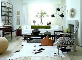cowhide rug on wall image of faux beautiful hang cow white