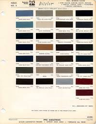 Interior Color Chart 1968 Mustang Interior Paint Color Chart And Paint Code