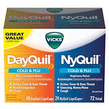 Amazon Com Vicks Nyquil Cough Cold And Flu Nighttime Relief