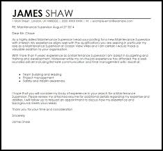Sample Supervisor Cover Letter Retail Supervisor Cover Letter Sample ...