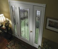 jeld wen exterior door white painted fiberglass door and matching sidelights smooth pro glass panel