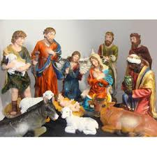Sterling Large 12-Piece Outdoor Christmas Nativity Set Yard Art Decoration alternate image