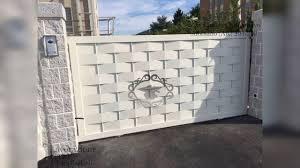Pagar rumah mewah minimalis memang cenderung lebih mahal karena bahan yang digunakan juga lebih bagus dari pagar sederhana. 30 Model Pagar Minimalis 2020 Model Pagar Besi Terbaru Youtube