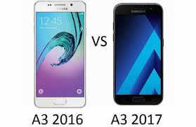samsung a3 2016. samsung galaxy a3 2017 vs 2016 3