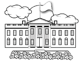 Small Picture Whitehouse Coloring Page