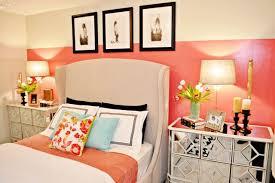 Contemporary bedroom idea in Miami with pink walls