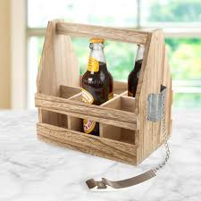 artland mixology beer caddy with opener