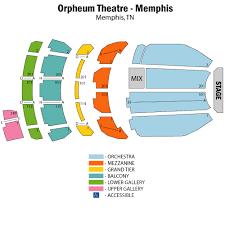 Orpheum Theatre Memphis Interactive Seating Chart Ageless Theatre Memphis Seating Chart Cowell Theater Seating