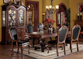 High End China Cabinets Stylish Amazing Formal Dining Room Sets With China Cabinet L23
