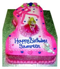 Barbie 1st Birthday Molded Cake Rashmis Bakery