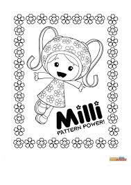 Team Umizoomi Coloring Page Free Download