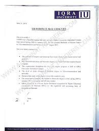 Sample Verification Letter From University For Saudi Culture