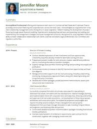 A Professional Cv Template Resume Examples