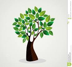 Tree Design Trendy Concept Tree Design Stock Vector Illustration Of Back 32018595