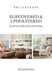 slipcovered upholstered