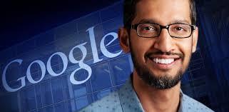 Image result for CEO of Google Sundar Pichai