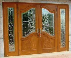 Interior Wood Door Design House Front Double Modern Safety Solid