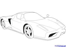 Ferrari 458 Italia Coloring Pages Colouring Spider Page Astounding