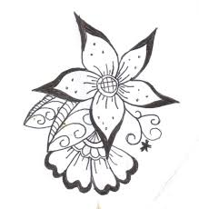 Small Picture Top 25 best Henna flower designs ideas on Pinterest Simple