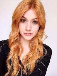 Natural Redhead Dyed Hair