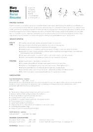 Free Nursing Resume Templates Mesmerizing Registered Nurse Sample Resume Hflser