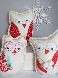 Owl Bedroom Accessories Easy Diy Folk Art Winter Owl Christmas Gifts Sewing Pattern Pdf