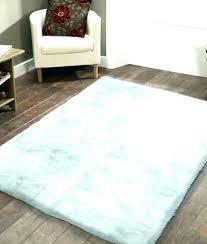 large white fur rug faux fancy furry big fluffy idea grey rugs lar