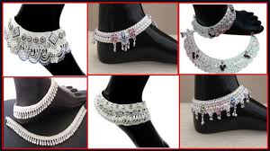 Fancy Silver Payal Designs With Price Latest Anklet Designs 2018 Silver Payal Anklets Design Bridal Payal Designs