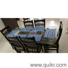 4 6 seater dining table