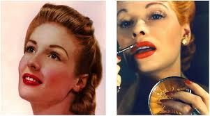 take a look at the step by step guide to creating a 1940 s makeup look using youcam makeup as a guide