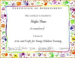 Certificate Templates For Word Kids 5 Elsik Blue Cetane