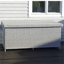 Bramblecrest monterey rattan cushion storage box double tap to zoom