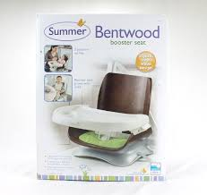 summer infant bentwood booster seat new baby toddler highchair