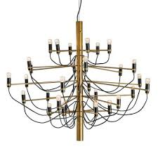 mid century 2097 30 chandelier by gino sarfatti for arteluce 1