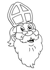 Kleurplaat Sinterklaas En Zwarte Piet 2844