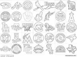 Small Picture MLB logos coloring pages Coloring pages to download and print