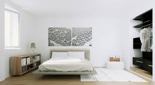 Monochrome Bedroom Design Scandinavian Apartment Natural Wood And Monochrome Bedroom
