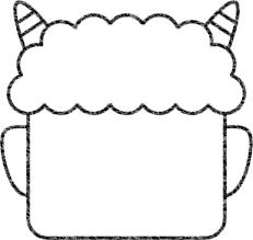鬼のイラストの簡単な書き方